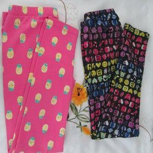 Other - 2 pcs of Leggings for Girls